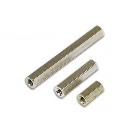 BUS3FF08 Entretoise métal femelle-femelle 8 mm