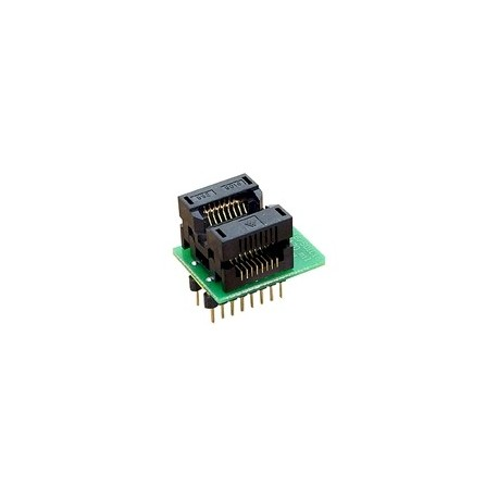 Adaptateur DIL16/SOIC16-1 ZIF 170 mil