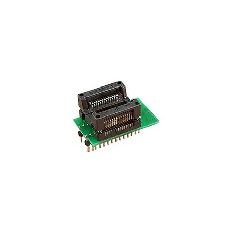 Adaptateur DIL28/SOIC28 ZIF 300 mil