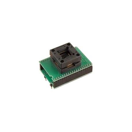 Adaptateur DIL40/QFP64 ZIF LPC-1