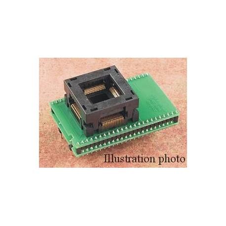 Adaptateur DIL40/TQFP100-2 ZIF PIC-1A
