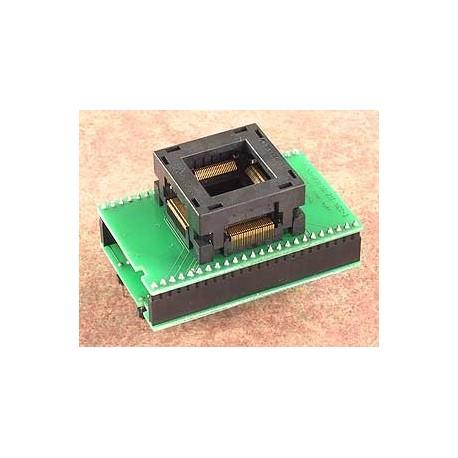 Adaptateur DIL48/QFP100 ZIF NEC-5