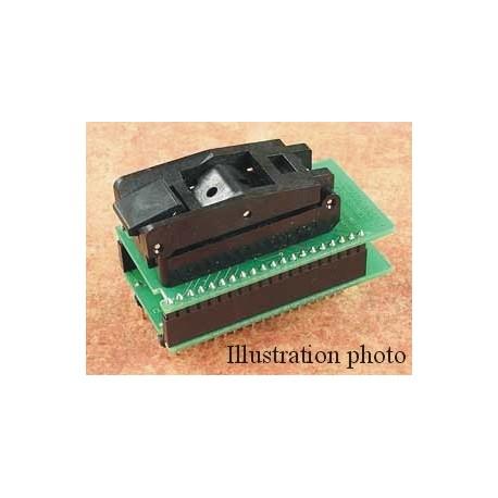 Adaptateur DIL48/QFP64-2 ZIF-CS NEC-2