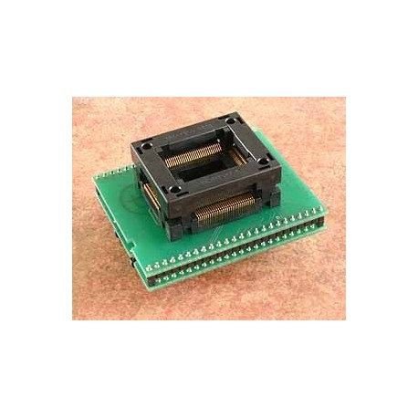 Adaptateur DIL48/PQFP100 ZIF ST10-1