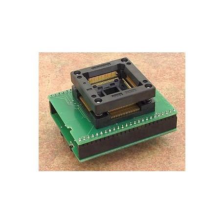 Adaptateur DIL48/QFP144 ZIF STR73x