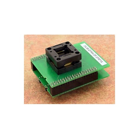 Adaptateur DIL48/QFP64 ZIF STR71x
