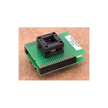 Adaptateur DIL48/QFP64 ZIF STR75x
