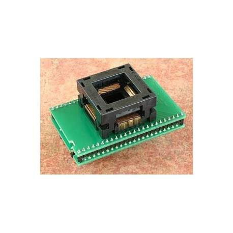 Adaptateur DIL48/TQFP100 ZIF ST92Fxxx