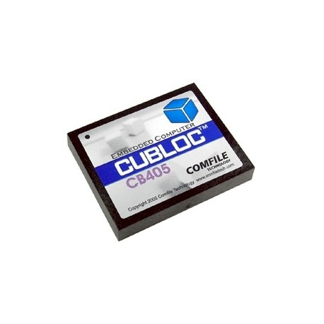 Module CUBLOC CB405 programmable en Basic et en Ladder - Comfile
