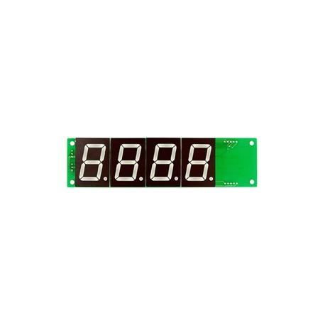 Grand afficheur rouge 4 digits à commande série Comfile Technology