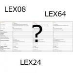Comparatif LEX