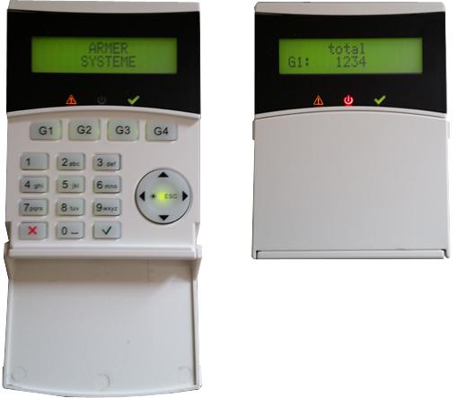 ROBOT Statique Alarme intrusion