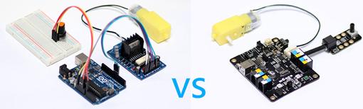 Mbot contre Arduino