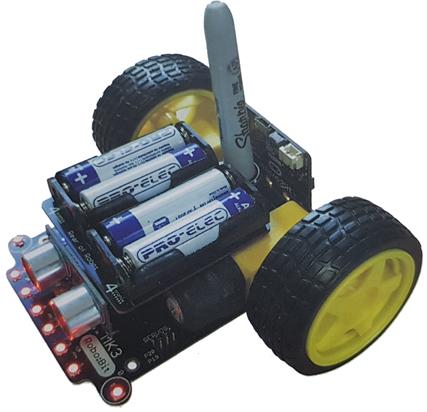 Base robotique Robo:Bit Mk3 Buggy pour micro:bit