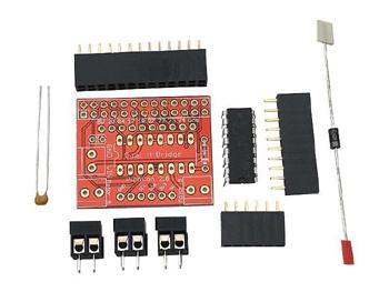 Détail du kit drivers moteur PicoCon pour Raspberry Pi