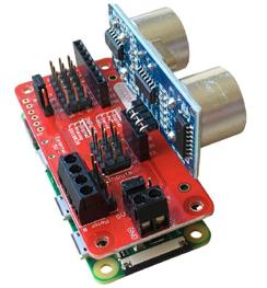 Exemple d'utilisation du module Picon Zero