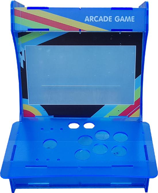 Bartop (borne d'arcade) 1 joueur une fois assemblé