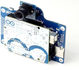 Module Arducam-LF shield avec une caméra