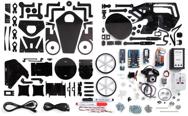 Détail du starter-kit Arduino Engineering Kit
