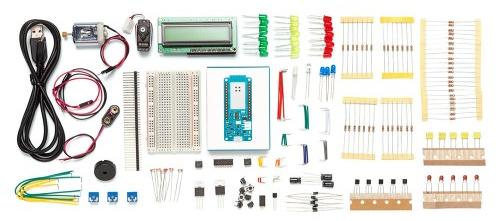Détail sur le contenu du starter-kit MRK IoT BUNDLE
