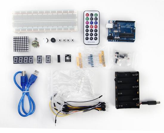 Détail du starter kit DIY Basic pour Arduino
