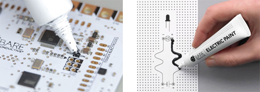 Autres types d'applications envisageable avec la peinture électrique