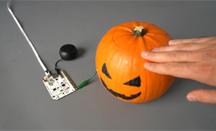 Application capteur sensitif Touch Board