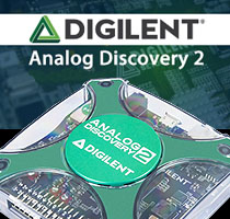 Boitier Oscilloscope USB polyvalent Analog Discovery 2