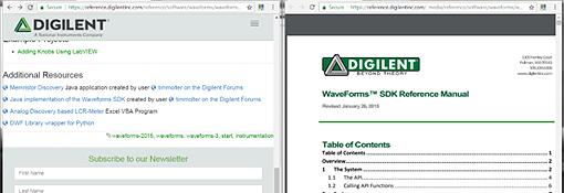 Differences WaveForms et WaveForm Live  - 10