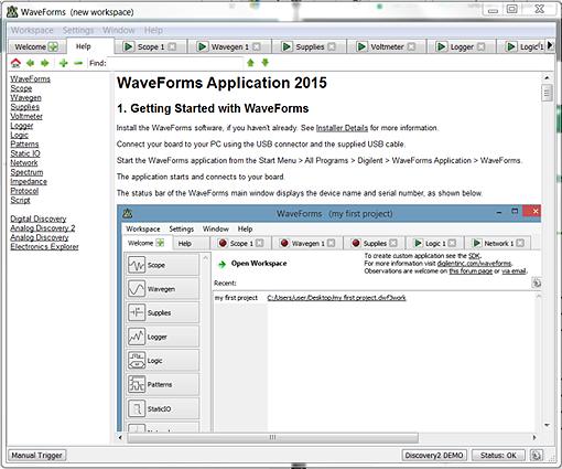Differences WaveForms et WaveForm Live  - 14