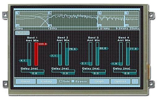 Détail de l'afficheur DPP-CT8048