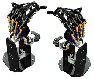 Mains robotiques DFRobot ROB0142 et ROB0143