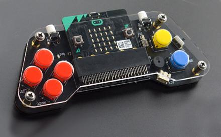 Exemple d'utilisation de la manette micro:Gamepad DFR0536 avec une carte micro:bit