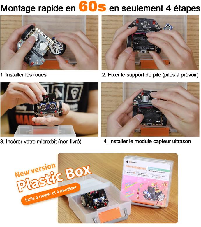 Montage du robot micro:Maqueen