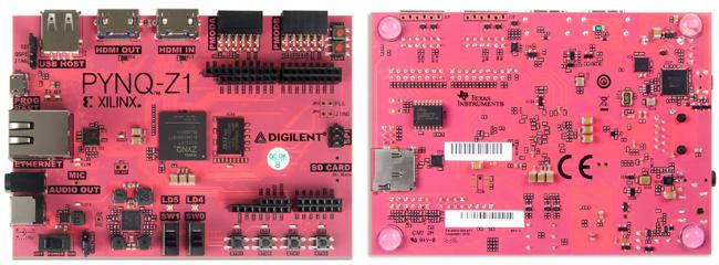 Platine PYNQ-Z1 - Développement Pyhton sur FPGA Digilent