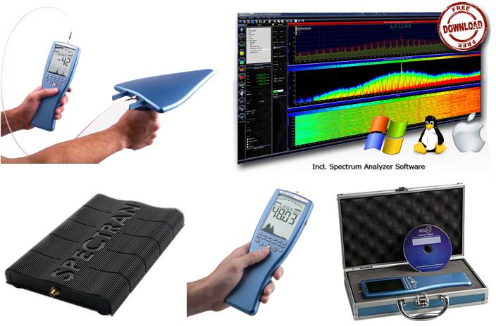 Présentation de la gamme d'analyseur de spectre Aaronia AG