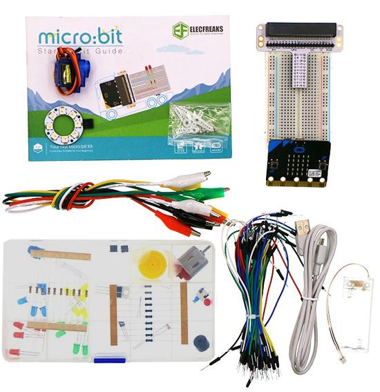 Détail du contenu de Starter kit micro:bit ELECFREAKS EF08179