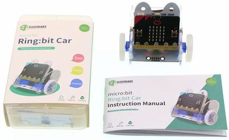 Détail du kit Ring:bit Car 2 - EF08201
