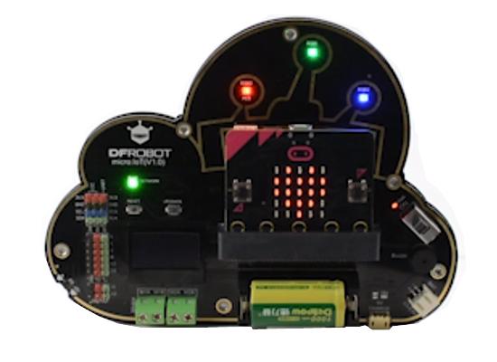 Exemple d'utilisation de la platine d'extention micro:IoT MBT0012