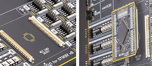 Connecteur pour module MCU STM32