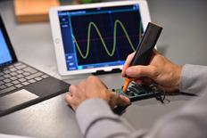 Détail d'utilisation de l'oscillosocpe IkaScope