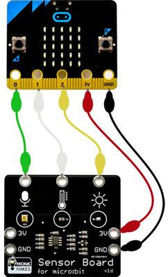 Exemple d'application du module haut-parleur pour micro:bit