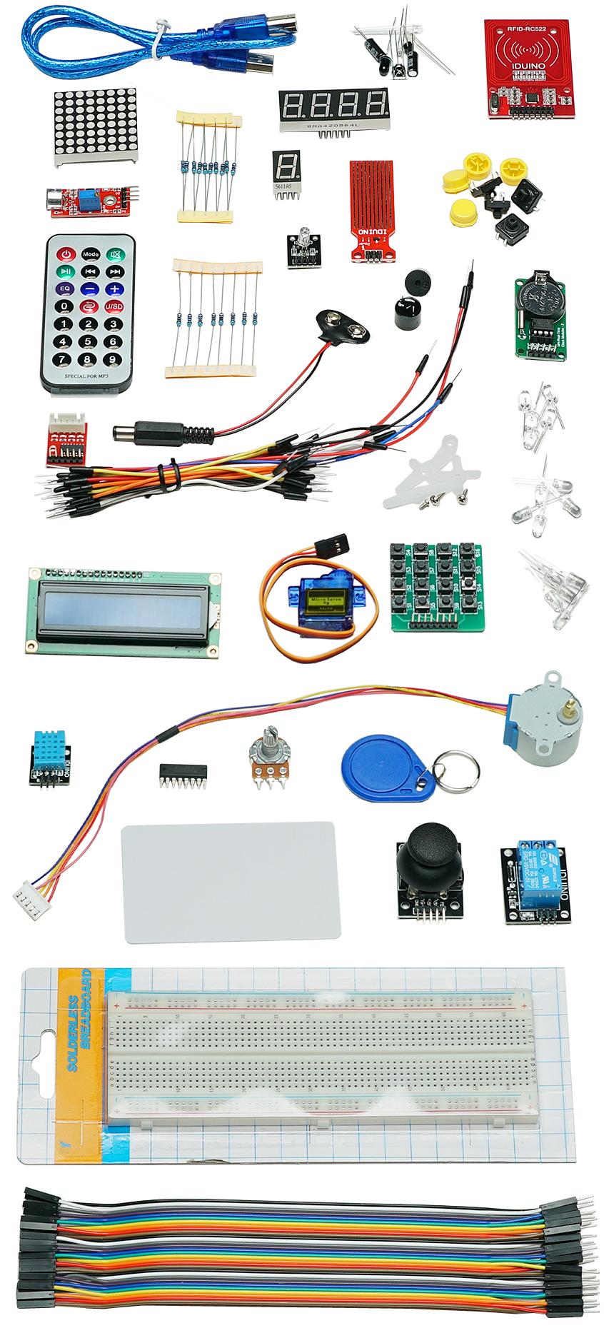 Détail du pack Expert pour Arduino