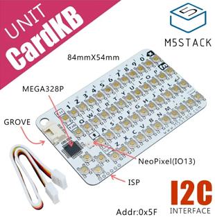 Détail du mini clavier CardKB U035