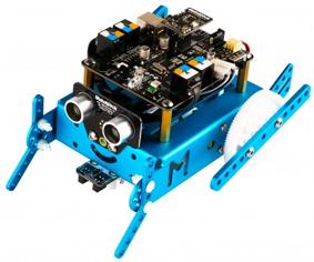 Montage mbot en robot Frog