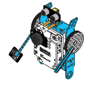 Montage du mBot en robot Penguin