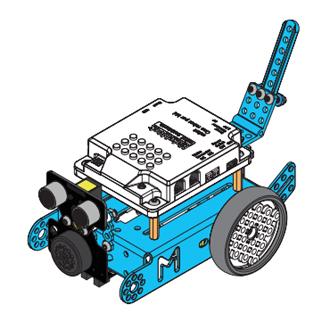 Montage du mBot en robot Dog