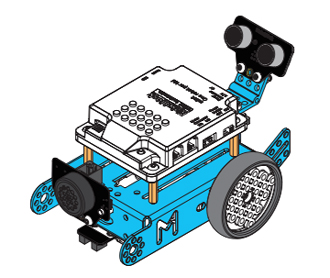 Montage du mBot en robot Rover