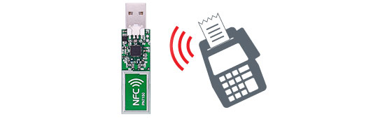 Dongle USB NFC MIKROE-2540