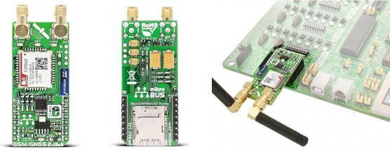 Module GSM/GNNSS 2 Click MIKROE-2440
